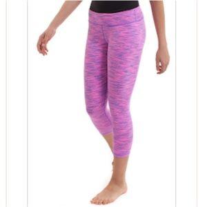Ivivva space dye rhythmic crop,leggings